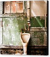 The Urinal Canvas Print