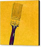 The Used Paintbrush Canvas Print