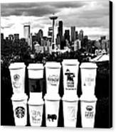The Usual Seattle Suspects Canvas Print