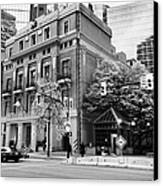 the vancouver club building west hastings street heritage district Vancouver BC Canada Canvas Print by Joe Fox
