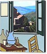 The View From Vincent's Room. Sold Canvas Print by Kenneth North