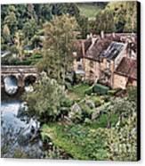 The Village Canvas Print by Olivier Le Queinec