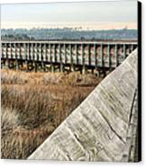 The Walkway Canvas Print by JC Findley