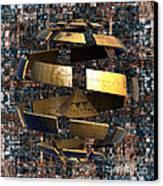The Wandering Pyramid Canvas Print