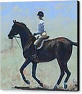 The Warm-up Canvas Print by Elizabeth Lane