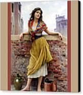 The Water Carrier Poster Canvas Print