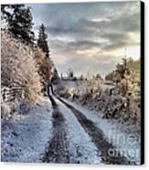 The Way Home Canvas Print by Rory Sagner