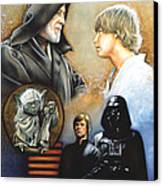 The Way Of The Force Canvas Print