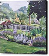 The Wedding Bridge Canvas Print by Dottie Branchreeves