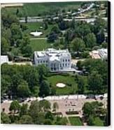 The White House Canvas Print by Carol Highsmith