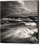 The Wind And The Sea Canvas Print by Bob Orsillo