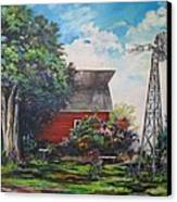 The Windmill Of The Garden Canvas Print