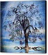 The Wishing Tree Canvas Print by John Edwards