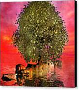 The Wishing Tree Two Of Two Canvas Print
