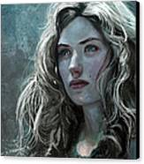 The Witch Canvas Print by Steve Goad