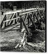 The Wooden Bridge Canvas Print