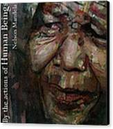 The World Holds It's Breathe Canvas Print by Paul Lovering