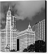 The Wrigley Building Chicago Canvas Print by Christine Till