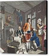 The Young Heir Takes Possession Canvas Print