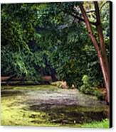 There Is Always A Hope. Park Of De Haar Castle Canvas Print by Jenny Rainbow