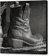 These Boots Canvas Print