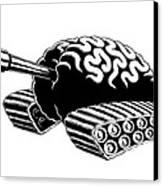 Think Tank Canvas Print by M o R x N