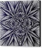 Thinkin Green Canvas Print by Sarah Yencer