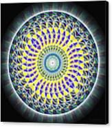 Thirteen Stage Alchemy Kaleidoscope Canvas Print by Derek Gedney