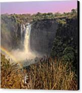 This Is Zimbabwe No.  1 - Thundering Victoria Falls Canvas Print