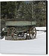 This Old Wagon Canvas Print