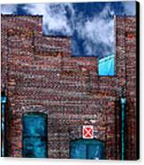 This Property Is Condemned Canvas Print by Colleen Kammerer
