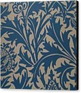 Thistle Design Canvas Print