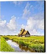 Thomas A Becket Church Romney Marsh Canvas Print by Colin and Linda McKie