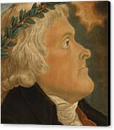 Thomas Jefferson Canvas Print by Michael Sokolnicki