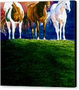 Three Amigos Canvas Print by Hanne Lore Koehler