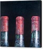 Three Dusty Clarets Canvas Print