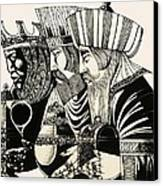 Three Kings Canvas Print by Richard Hook