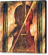 Three Violins Canvas Print