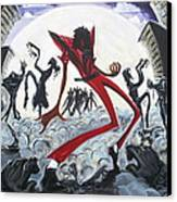 Thriller V2 Canvas Print by Tu-Kwon Thomas