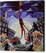 'thriller V3' Canvas Print by Tu-Kwon Thomas