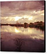 Through The Clouds Canvas Print by George Lenz