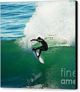 Throwing Light Canvas Print by Paul Topp