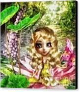 Thumbelina Canvas Print by Mo T