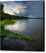 Thunderstorm On The Water Canvas Print
