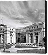 Thurgood Marshall Federal Judiciary Building Canvas Print by Olivier Le Queinec