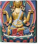 Tibetan Buddhist Deity Canvas Print