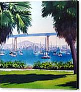 Tide Lands Park Coronado Canvas Print by Mary Helmreich