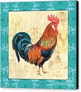 Tiffany Rooster 1 Canvas Print by Debbie DeWitt