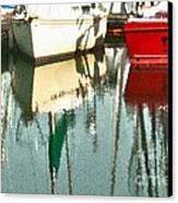 Tiffany Sailed From San Francisco To Moss Landing Canvas Print