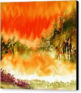 Timber Blaze Canvas Print